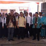 Kunjungan Kepala SD se Muara Enim Sumatra Selatan