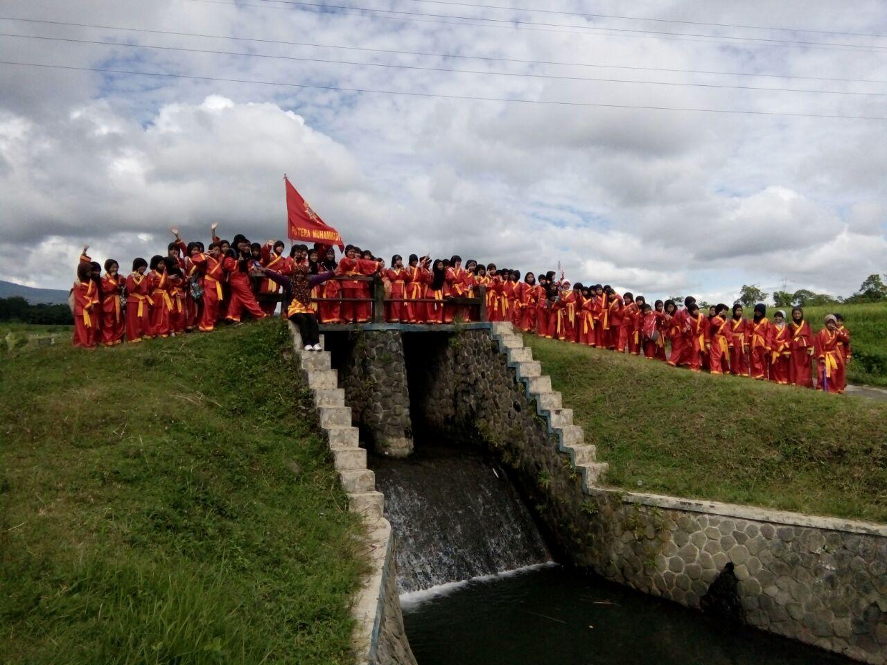 Long March Tingkatkan Kekuatan Fisik Siswa