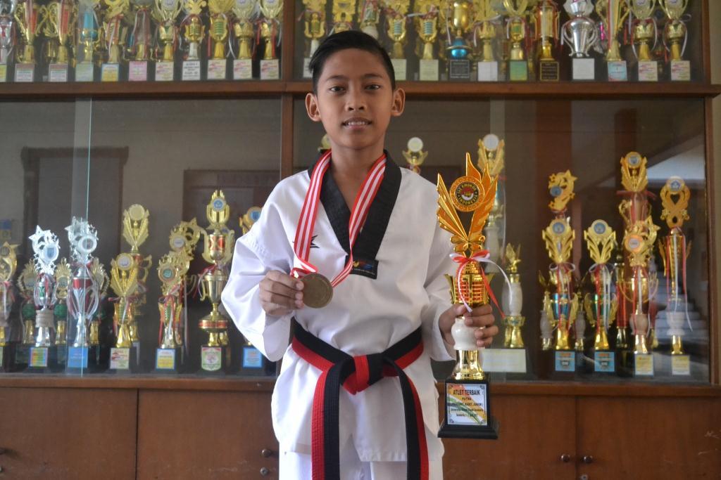 Abimanyu Jadi Atlet Terbaik Se Jawa-Bali
