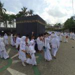 Dipercaya Selenggarakan Manasik Haji, SD Muhammadiyah (Plus) Tampilkan Petugas Terbaik