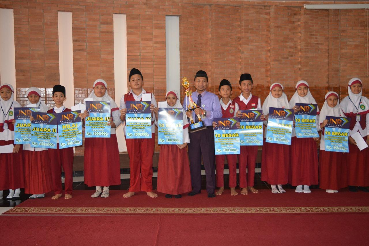 111 Siswa Antarkan SD Muhammadiyah (Plus) Salatiga Puncaki USBN
