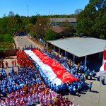 Ajarkan Sejarah, Siswa-Siswi Diajak Napak Tilas Bendera Merah Putih
