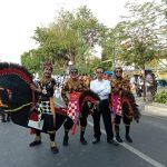 GeSS Juara 1 Internasional Street Parade