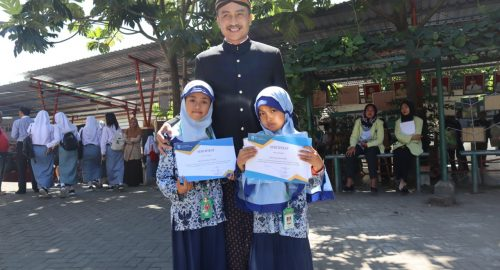 Ara dan Zara Buka Catatan Kejuaraan SD Muhammadiyah Plus