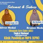 Dua Guru dari SD Muhammadiyah Plus Salatiga Juara Lomba Olimpiade Guru Sains Tingkat Nasional