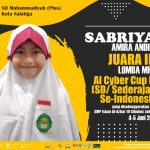 Siswi SD Muhammadiyah Plus Salatiga Menjadi Juara Dalam Lomba MHQ Tingkat Nasional