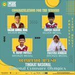 SD Muhammadiyah Plus Salatiga Torehkan Prestasi dalam National Cynosure Olympics